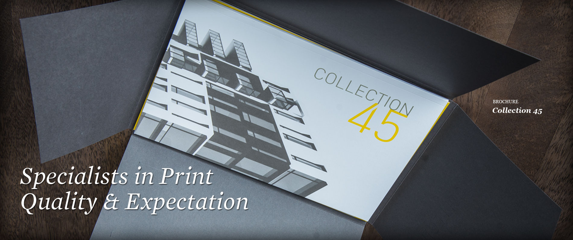 Printed Collection 45 brochure