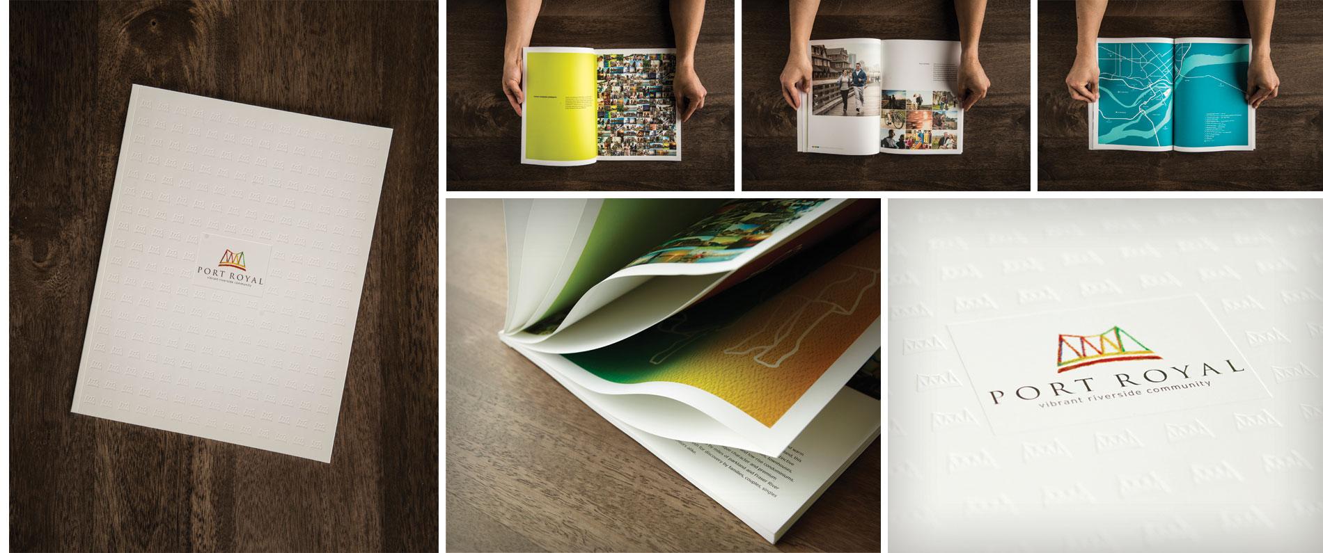 A custom brochure for Port Royal